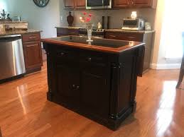 Home Styles Monarch Kitchen Island Home Styles Monarch Slide Out Leg Kitchen Island With Granite Top