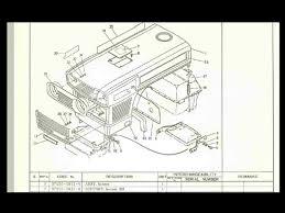kubota l185 l185dt l 185 l 185 dt tractor parts manual for sale