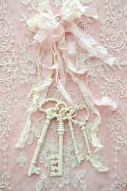 Vintage Shabby Chic Home Decor by Set 2 Shabby Chic Keys 1 Pink 1 Pale Pink Vintage 4 1 2