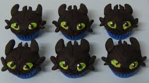 toothless cake topper how to make chocolate mini muffins and decorate as