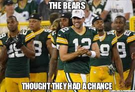 Packers Bears Memes - nfl humor gb 55 bears 14 game played on 11 09 14 best game