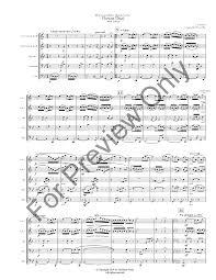 Flower Duet - flower duet from lakme brass quintet j w pepper sheet music