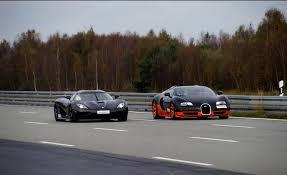 bugatti vs bugatti veyron vitesse vs koenigsegg agera r top speed