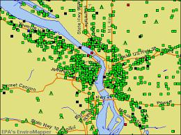 map of oregon portland portland oregon or profile population maps real estate