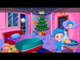 Baby Hazel Room Games - baby hazel christmas surprise level 2 santa claus meets baby