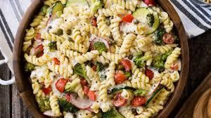 Cold Pasta Salad Recipe Cold Pasta Primavera Salad From Hidden Valley Recipe Allrecipes Com