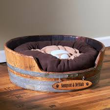 small pet beds personalized wine barrel pet bed small wine enthusiast