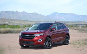 ford crossover 2016 2016 ford edge photos 1 4 the car guide