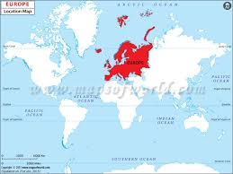 europe world map where is europe where is europe located in the world map