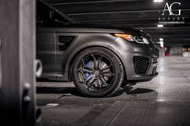 range rover matte black ag luxury wheels range rover sport svr forged wheels