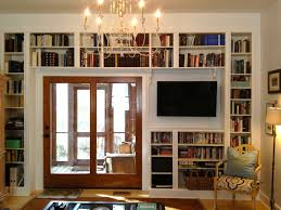 modern home library interior design luxurious building a home library design with natural brown