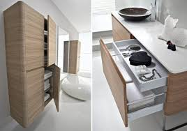 bathroom furniture ideas walnut bathroom furniture with rounded corners seventy by idea
