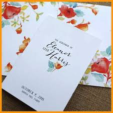 wedding ceremony program covers 7 wedding programs covers lease letter