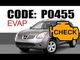 nissan check engine light codes nissan p0455 vent control valve check engine light youtube