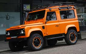 land rover jeep cars orange land rover defender jeep free stock photo public domain