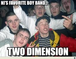 Boy Band Meme - ni s favorite boy band spides meme on memegen