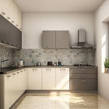 wooden kitchen design l shape simple l shape modular kitchen design