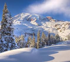 sunny snowy mountains wallpapers winter mountain scenes wallpaper wallpapersafari