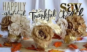 burlap gold diy thanksgiving centerpieces amanda zelli