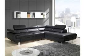 canape noir conforama fauteuil cuir noir conforama