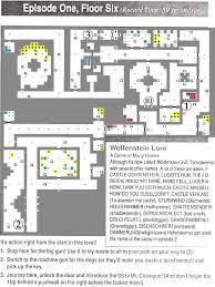 Floor Plans With Secret Passages Wolfenstein 3 D Maps