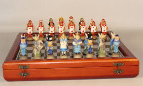 Chess Set Chess Sets From The Chess Piece Chess Set Store Alice In