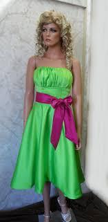 lime green bridesmaid dresses green bridesmaid dress with fuschia sash green bridesmaid
