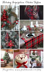 plaid christmas christmas inspiration classic tartan plaid