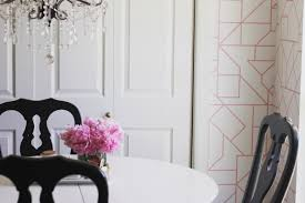 how to install removable wallpaper dining room at home with ashley