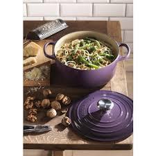 cuisine cassis le creuset signature cast iron casserole 28cm cassis