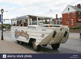 amphibious truck ride the ducks amphibious vehicle for city land and water tours