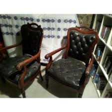bureau chesterfield 4 fauteuils chesterfield de bureau siege visiteur facon cuir vert