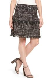 tweed skirt halogen edge tweed skirt regular nordstrom rack