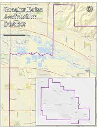 Map Of Boise Idaho District Boundaries The District