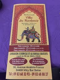 bureau de change vitry sur seine villa du kashmir accueil vitry sur seine menu prix avis