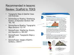 core content coaching grade 8 topographic maps u0026 satellite views 14 15