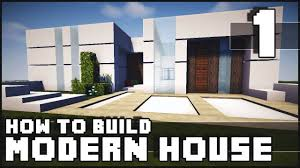 Modern Row House by Minecraft House How To Build Modern House Part 1 Youtube