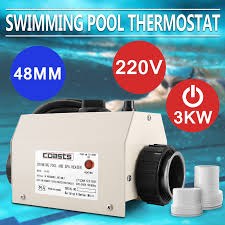 3kw 220v electric swimming pool tub water heater 48mm