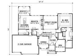 blueprints for house house 8742 blueprint details floor plans