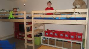 Double Twin Camp Loft Bed I Made For My Boys Things Ive Made - Double and twin bunk bed