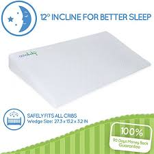Crib Mattress Wedge Occobaby Universal Crib Wedge And Sleep Positioner For Baby