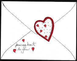 How To Make A Card Envelope - make paper appliqué heart valentines greeting card ideas aunt