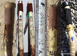 Free Wood Carving Patterns For Walking Sticks by How To Make A Walking Or Hiking Stick