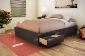Twin Bed With Storage And Bookcase Headboard by Bed Frames Bed With Storage Underneath Ikea Storage Bed Twin Bed