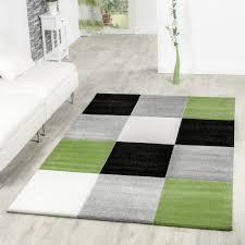 teppich grün weiß haus deko ideen