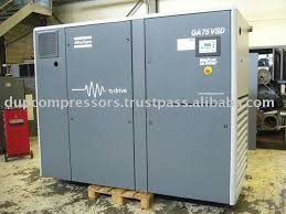 used rotary air compressor atlas copco ga 75 vsd buy air