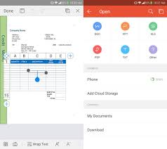 templates for wps office android wps office a complete free and multiplatform office suite
