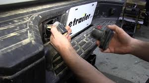 installation of a pollak twist in trailer connector on a 2012 gmc