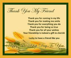thank you my friend for everything free thank you ecards 123