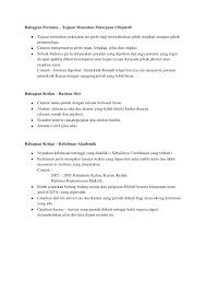 cara membuat resume kerja yang betul penulisan resume